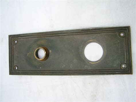 Door Knob Escutcheon Plate by Lot Yale Colonial Brass Door Knob Lock Escutcheon Plates