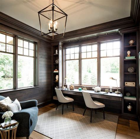 home office ceiling lighting 25 best ideas about rustic home offices on