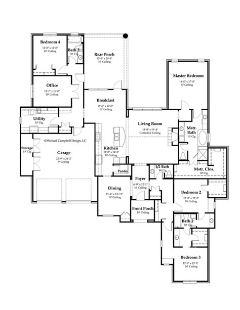country home floor plan french country house plan country french house plan