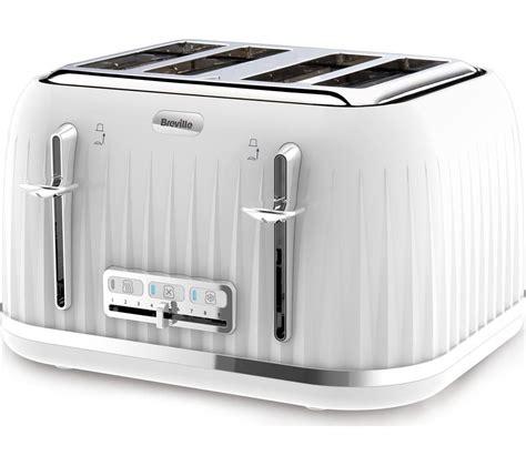 Breville Toaster White buy breville impressions vtt470 4 slice toaster white impressions vkj738 jug kettle white
