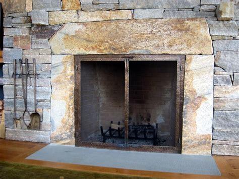 Chimney Door by Fireplace Screens Doors And Tools
