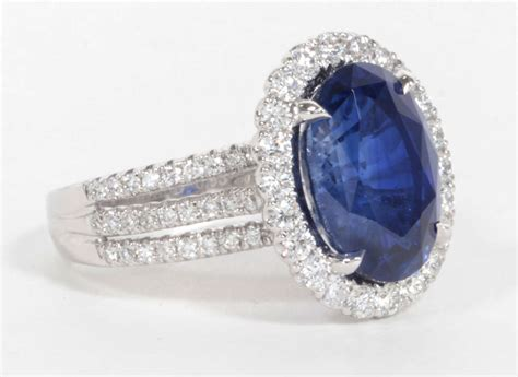 Blue Sapphire Similiar To Royal certified royal blue sapphire ring for sale at 1stdibs