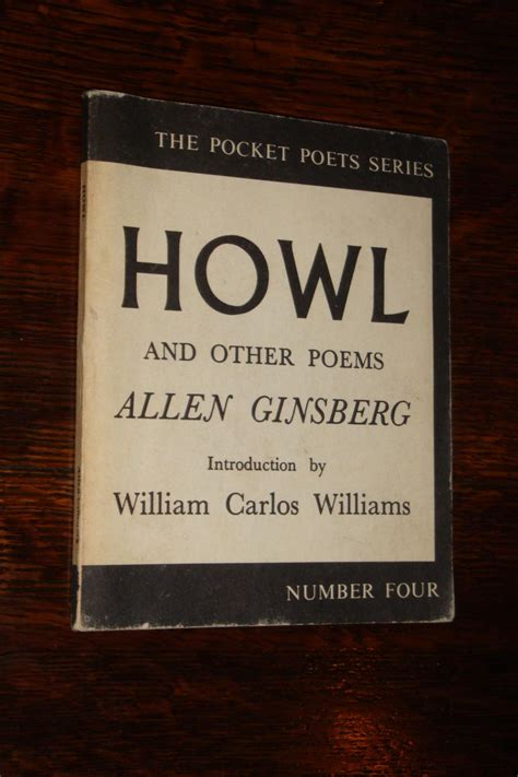howl for it books howl other poems by allen ginsberg edition abebooks