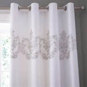 Black And White Thermal Curtains Silver Thermal Eyelet Curtains Dunelm