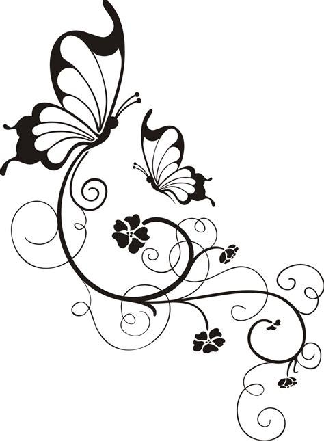 Auto Design Vorlagen Schmetterling Mit Blumenornament Wandtattoo Wandsticker Und Wandaufkleber Deine Wandtattoos