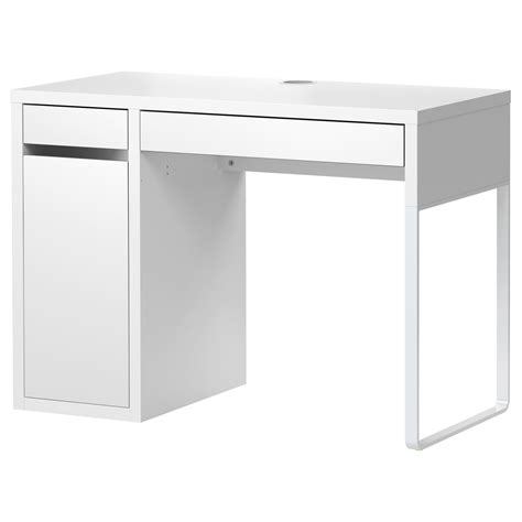 cheap white desk with drawers micke desk white 105x50 cm ikea