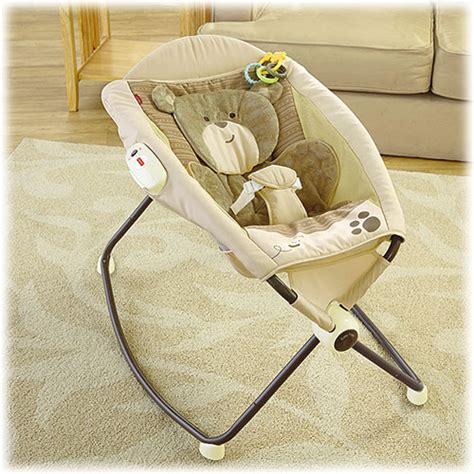 snugabear deluxe newborn rock n play sleeper