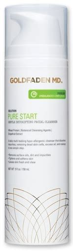 Goldfaden Detox Review by Goldfaden Md Start Gentle Detoxifying Cleanser