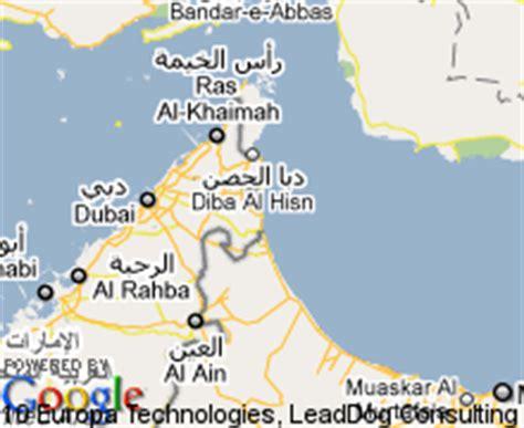 resort fujairah map map of fujairah united arab emirates hotels accommodation