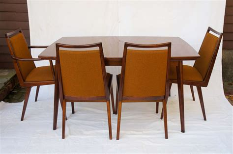german mid century dining set with 6 chairs by habeo at