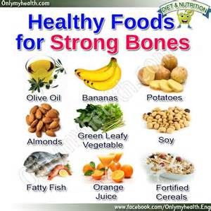 health foods for strong bones health