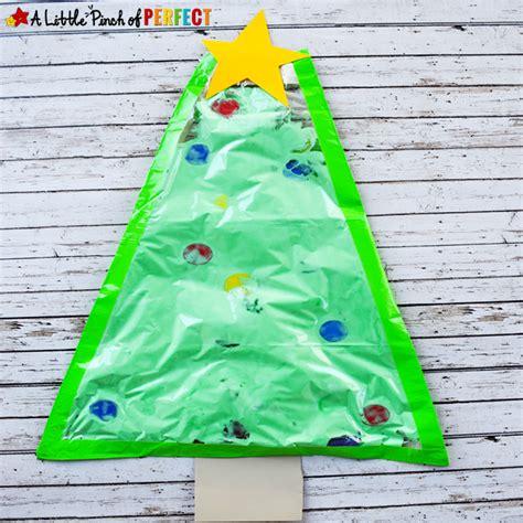 a big christmas tree no mess sensory play activity for kids