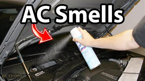 remove ac smells   car odor life hack youtube