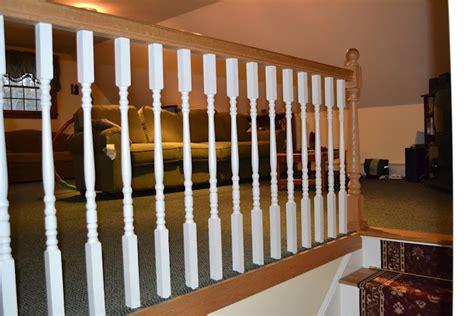 oak banister rail how to stain oak stair railing ehow home design ideas