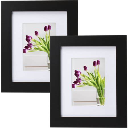 10 x 12 matted picture frames mainstays museum 8 quot x 10 quot matted to 5 quot x 7 quot picture frame