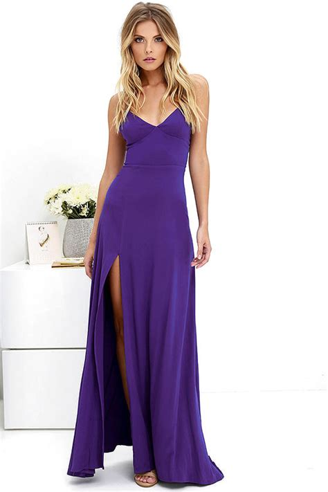 Purple Maxi Dress purple dress maxi dress strappy dress 58 00