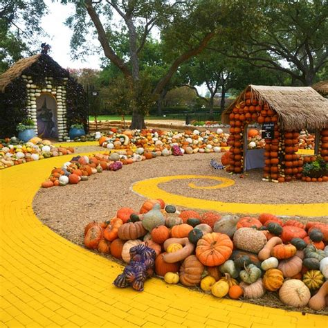 dallas arboretum and botanical garden take a tour of the 90 000 pumpkins at the dallas arboretum
