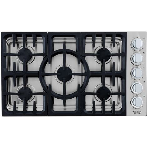 Dcs Cooktop Dcs 36 Inch 5 Burner Propane Gas Drop In Cooktop By Fisher