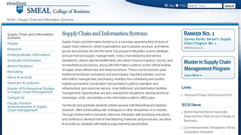 Top Mba Supply Chain Management Schools by Study Bachelor Of Business Logistics And Supply Chain