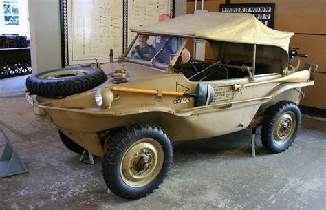 The In A 1940s Vw Schwimmwagen 95 Octane