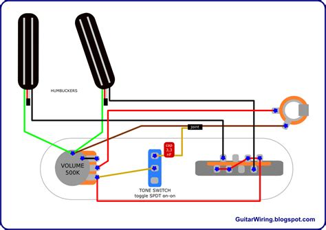 guitar wiring no capacitor the guitar wiring diagrams and tips telecaster project with humbuckers