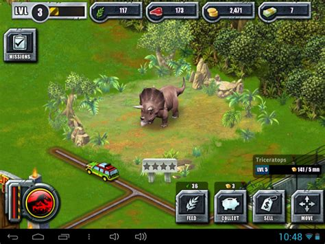Download Jurassic Park The Game For Android   greece android φτιάξτε το δικό σας πάρκο δεινοσαύρων στο