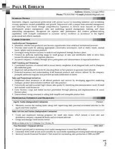 Sales Controller Sle Resume by Sales Resume Atlanta Ga Sales Sales Lewesmr