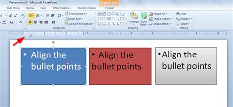 Cómo Alinear las Viñetas en PowerPoint 2010 : : Plantillas