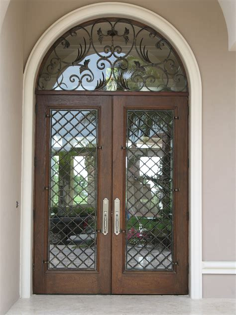 Front Door Wrought Iron Marvelous Front Door Style Ideas Exteriors Front Doors Doors And Wrought Iron