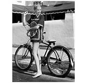 """Grace Kelly – Posing By Bike"""" 17 Oct 1954  &169 Pleasurephoto"""