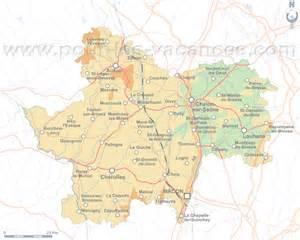 Saone et Loire location vacances Carte de location de gites Saone et Loire
