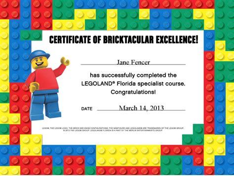 free printable lego gift certificates legoland florida specialist jane worldtravelspecialists