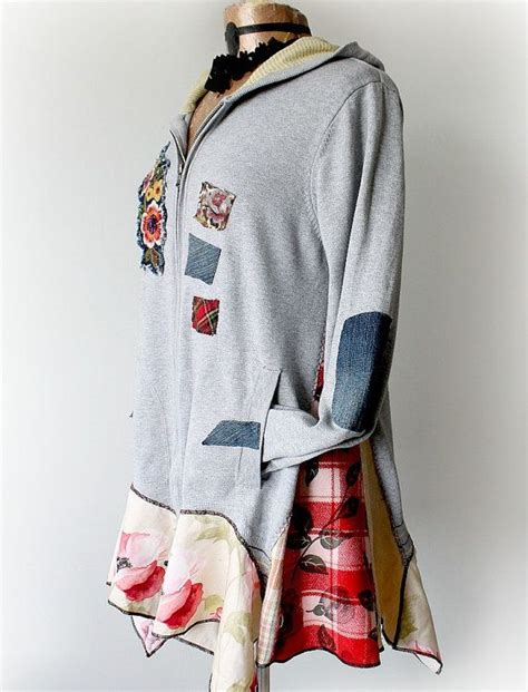 Jaket Hoodie Zipper Jazzy 1000 images about clothing refashion restoration on