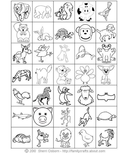 printable animal cards free 8 best images of printable animal bingo cards zoo animal