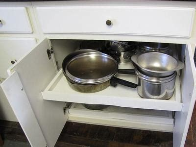 Pull Out Drawers For Pots And Pans by Organizing Pots And Pans Ideas Solutions