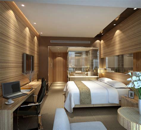 modern hotel room interior  scene   models