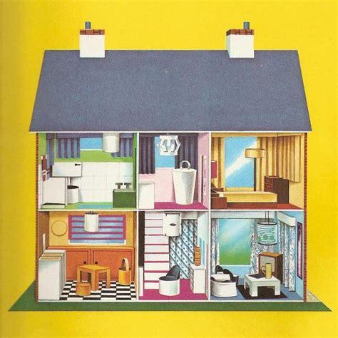cartoon doll house vintage dollhouse illustration dollhouse illustrations