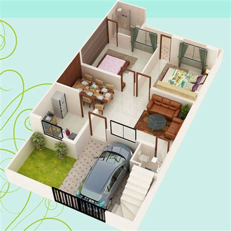 2 Floor Indian House Plans Geetanjali Constructions