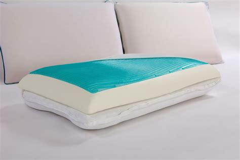 Reversible Memory Foam Pillow by Sealy Reversible Memory Foam Pillow With Gel
