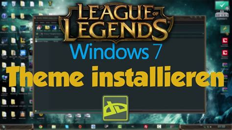 themes for windows 7 league of legends quicktutorials 2 windows 7 theme installieren