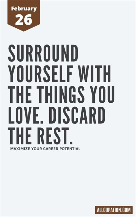 daily inspiration february 26 surround yourself with