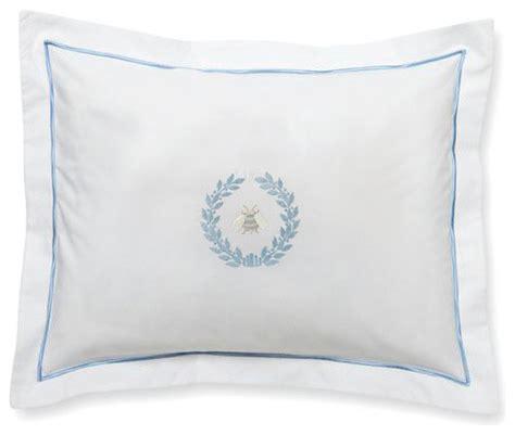 Where Can I Buy Decorative Pillows Boudoir Pillow Cover Napoleon Bee Wreath Duck Egg Blue