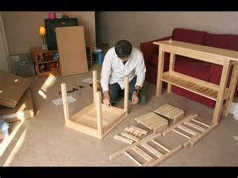 Furniture Assembly by Stop Motion Furniture Assembly