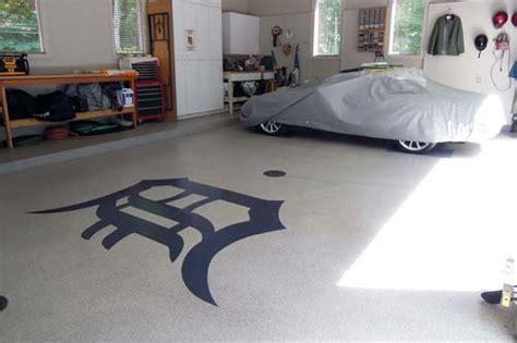 Painting & Polishing Concrete / Cement Garage Grand Rapids