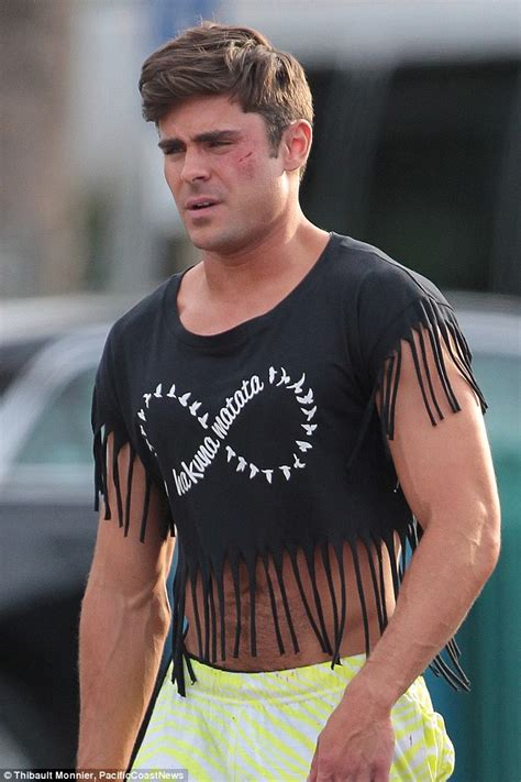 zac efron flashes toned torso as he films dirty grandpa