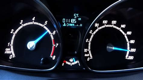 ford fiesta  ecoboost ps acceleration     top speed test youtube