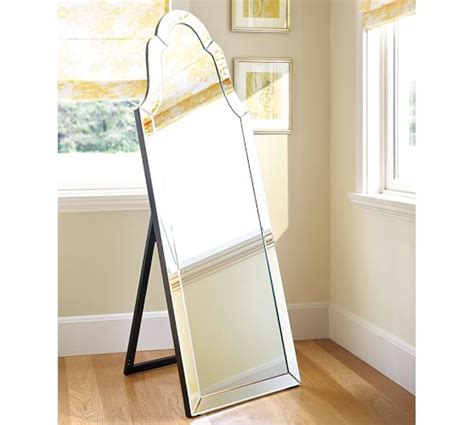 elise floor mirror pottery barn