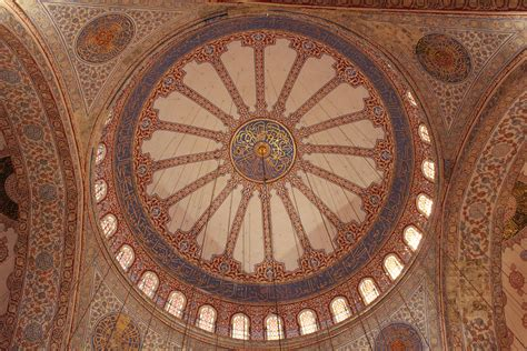 Blue Mosque Ceiling by Turkey International Travelingmarinebiologist