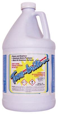 bass pro shop boat cleaner toon brite concentrated aluminum boat cleaner bass pro shops