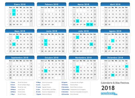 Calendario 2018 De Colombia Calendario 2018 Mundonets Mundonets